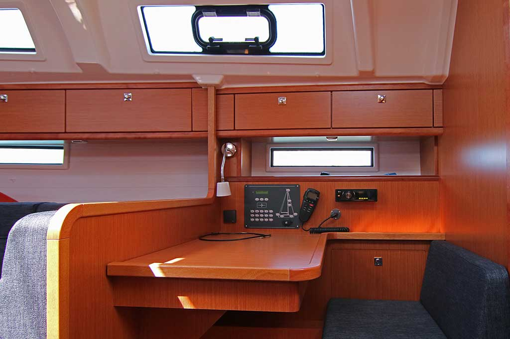 Vorschaubild Bavaria 41 Cruiser - Harmonia - Working space