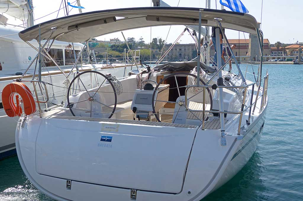 Vorschaubild Bavaria 41 Cruiser - Harmonia - Rear view