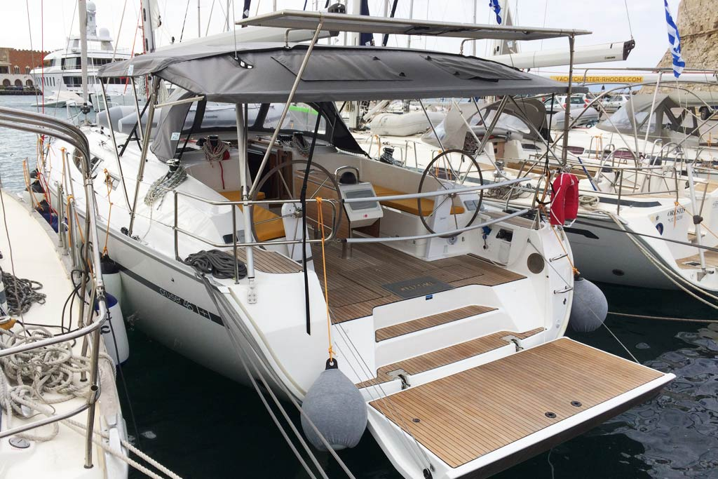Vorschaubild Bavaria 46 Cruiser - Side view - Melodia