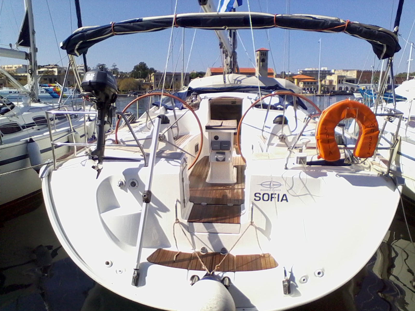 Vorschaubild Bavaria 46 Cruiser - Sofia - Rear view