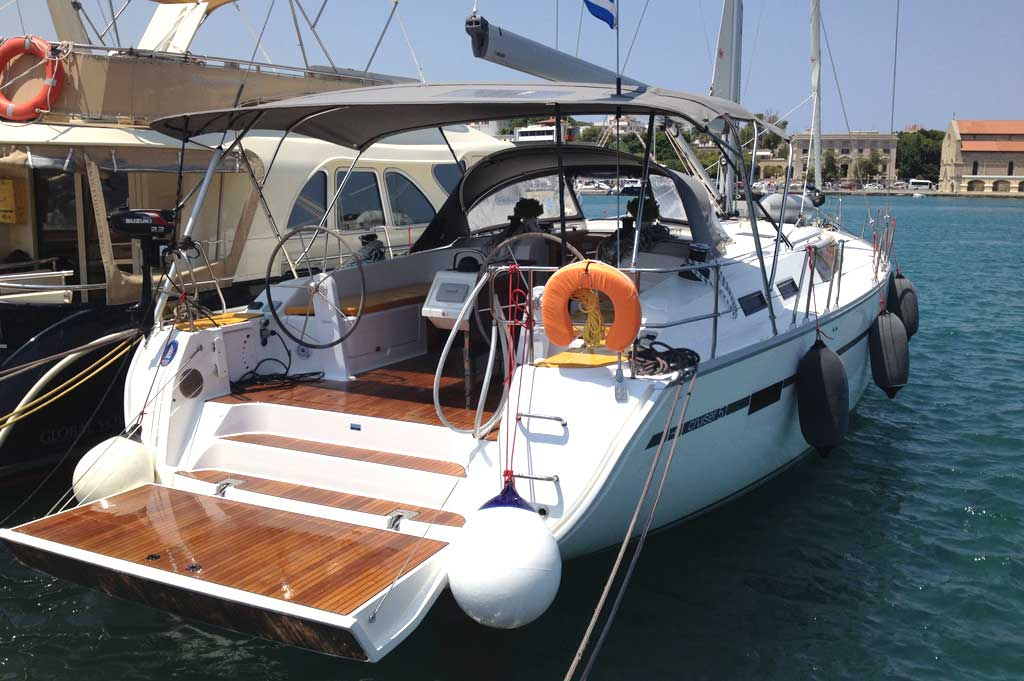 Vorschaubild Bavaria 51 Cruiser - Elpida - Side view 1
